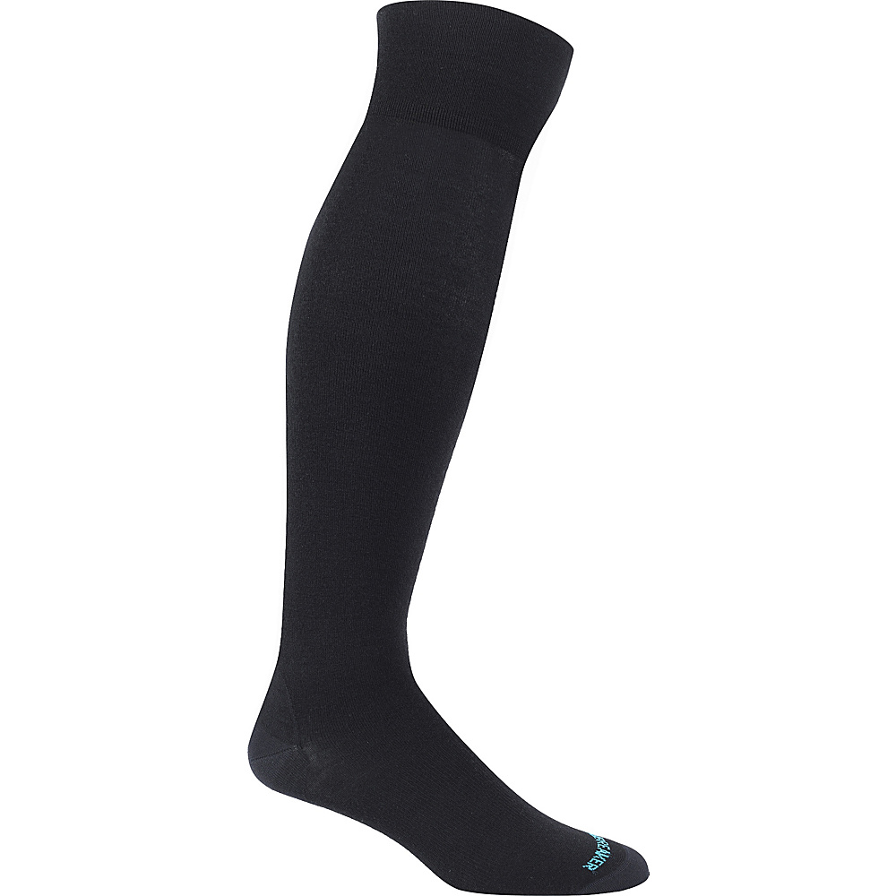 Icebreaker Womens LifeStyle Fine Gauge Ultra Light Over the Knee Sock M - Black - Icebreaker Womens Legwear/Socks - Apparel & Footwear, Women's Legwear/Socks