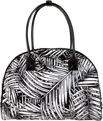 Tara's Travelers Palm Travel Tote Palm Black - Tara's Travelers Luggage Totes and Satchels