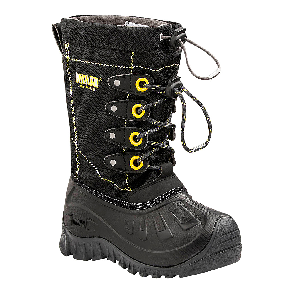 Kodiak Upaco Charlie Boot 11 (US Kids) - M (Regular/Medium) - Black/Yellow - Kodiak Womens Footwear - Apparel & Footwear, Women's Footwear