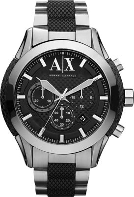 A/X Armani Exchange Active Watch Silver - A/X Armani Exch...