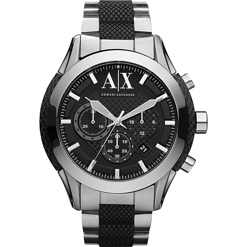 A X Armani Exchange Active Watch Silver A X Armani Exchange Watches