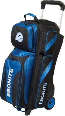 Ebonite Equinox Triple Roller Bowling Bag Blue - Ebonite Bowling Bags