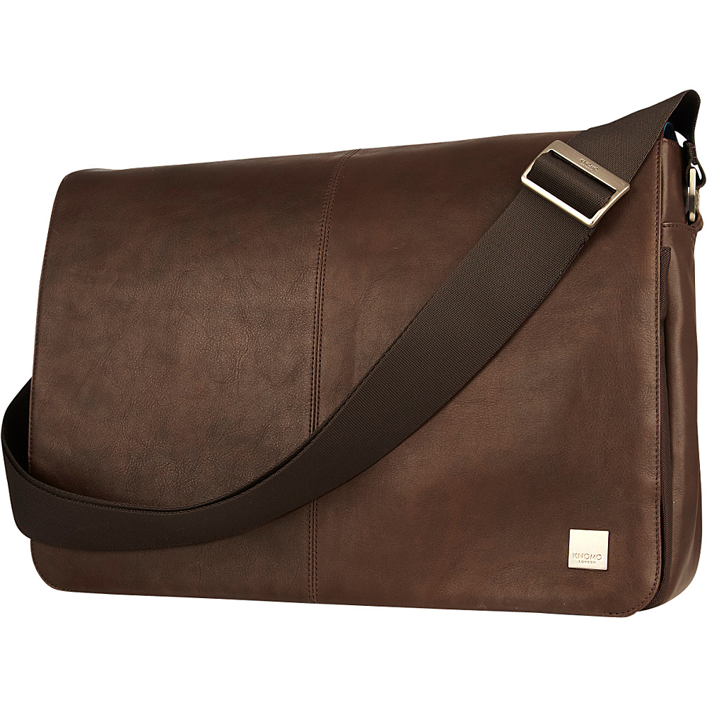 KNOMO London Brompton Classic Bungo Messenger Brown KNOMO London Messenger Bags