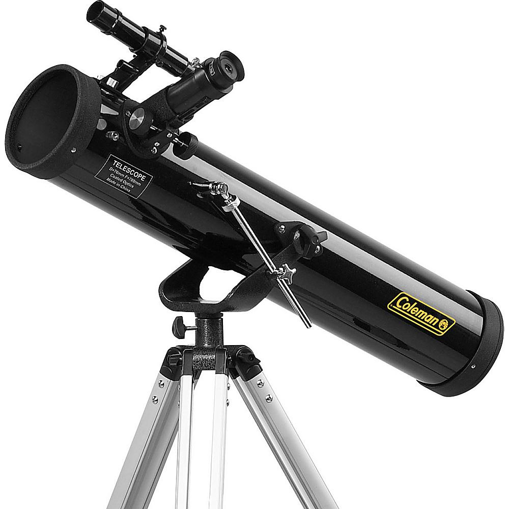Coleman AstroWatch D76mm x 700mm Reflector Telescope Black Coleman Cameras