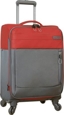 Nautica Harpswell 19 inch Expandable Spinner Carry on Red - Nautica Softside Carry-On