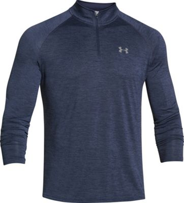 Under Armour UA Tech 1/4 Zip M - Midnight Navy/Steel/Steel - Under Armour Men's Apparel 10493063