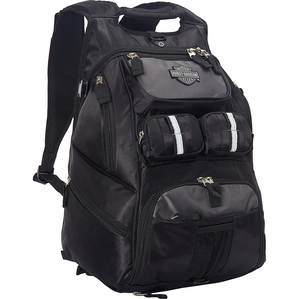 Harley Davidson by Athalon Harley Davidson All Terrain Backpack Black Harley Davidson by Athalon Business Laptop Backpacks