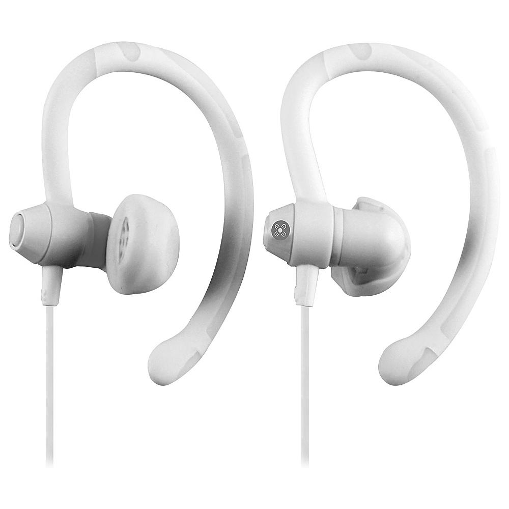 Moki 90 Sports Earphones White Moki Headphones Speakers