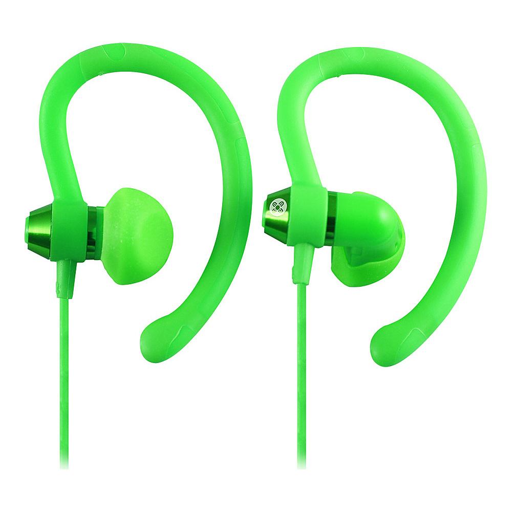 Moki 90 Sports Earphones Green Moki Headphones Speakers