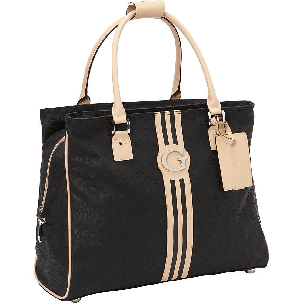GUESS Travel Nona Deluxe Shopper Tote Black - GUESS Travel Luggage Totes and Satchels
