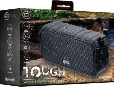 B iconic Tough Wireless Speaker Black - B iconic Headphones & Speakers