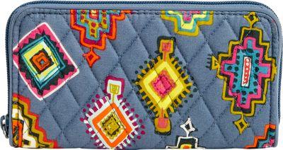 Vera Bradley RFID Georgia Wallet Painted Medallions - Vera Bradley Women's Wallets