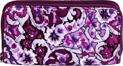 Vera Bradley RFID Georgia Wallet Lilac Paisley - Vera Bradley Women's Wallets