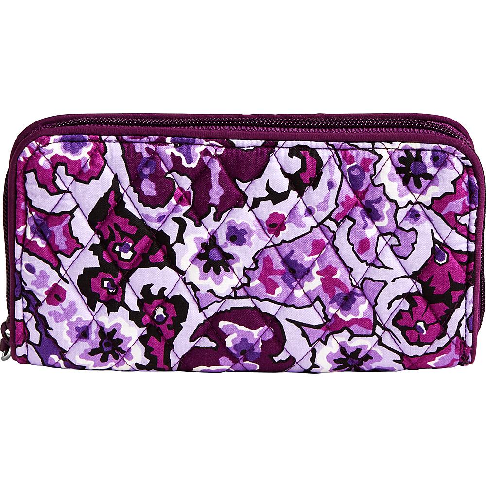 Vera Bradley RFID Georgia Wallet Lilac Paisley - Vera Bradley Womens Wallets - Women's SLG, Women's Wallets