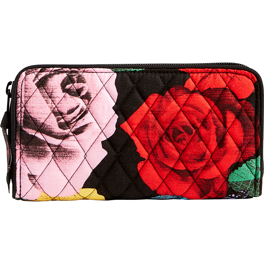 Vera Bradley RFID Georgia Wallet Havana Rose - Vera Bradley Womens Wallets - Women's SLG, Women's Wallets