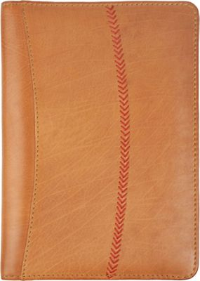 Rawlings Baseball Stitch Mini Padfolio/Tablet Case Cognac - Rawlings Business Accessories