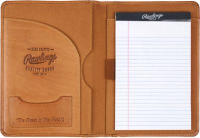 Rawlings Baseball Stitch Mini Padfolio/Tablet Case Cognac - Rawlings Business Accessories