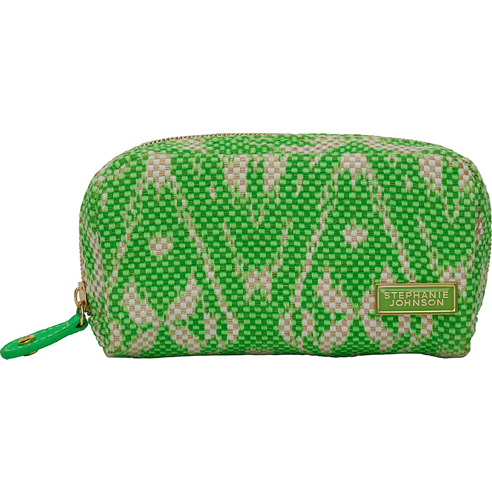 Stephanie Johnson Tamarindo Mini Cosmetic Pouch Green Stephanie Johnson Women s SLG Other
