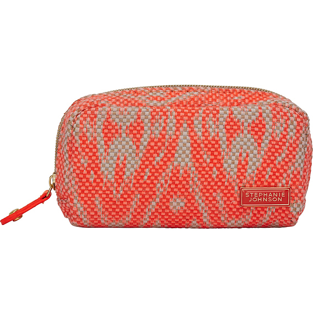Stephanie Johnson Tamarindo Mini Cosmetic Pouch Orange Stephanie Johnson Women s SLG Other