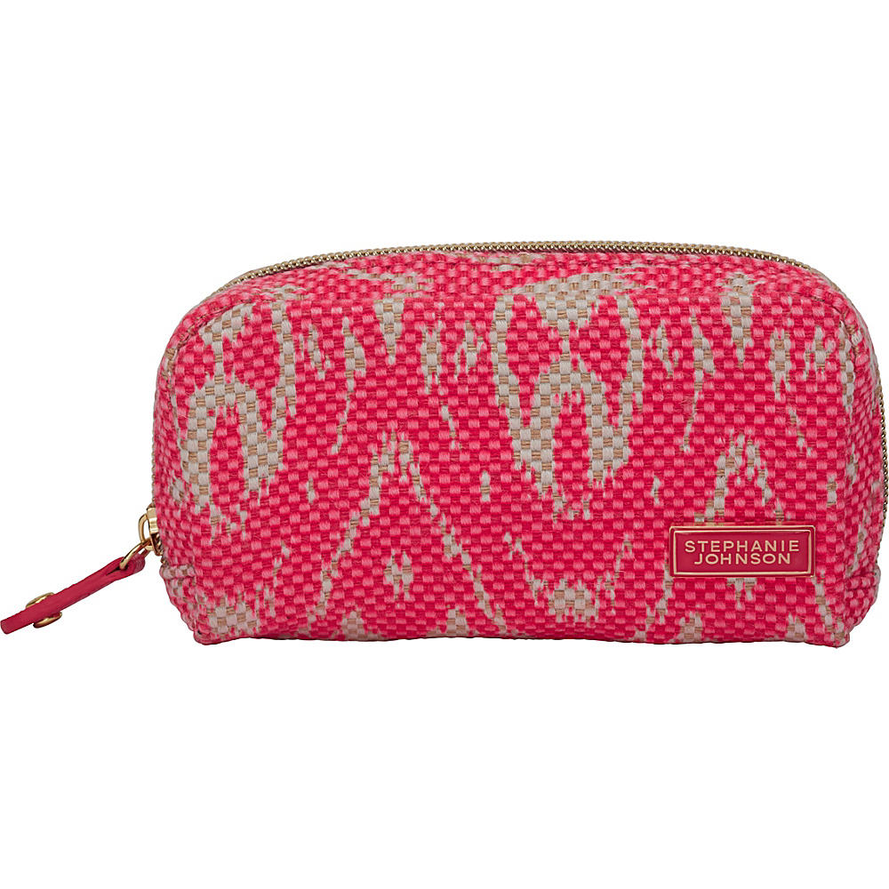 Stephanie Johnson Tamarindo Mini Cosmetic Pouch Pink Stephanie Johnson Women s SLG Other