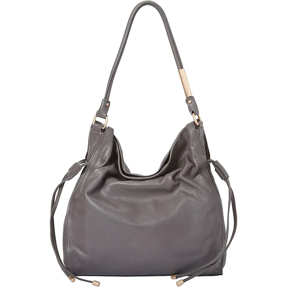 Foley Corinna Faye Large Drawstring Hobo Luna Smoke Foley Corinna Designer Handbags