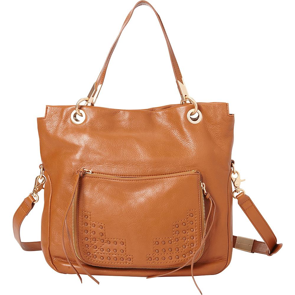 Foley Corinna Stevie Tote Honey Brown Foley Corinna Designer Handbags