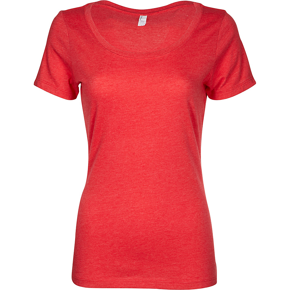 Simplex Apparel CVC Womens Scoop Tee 2XL - Red - Simplex Apparel Womens Apparel - Apparel & Footwear, Women's Apparel