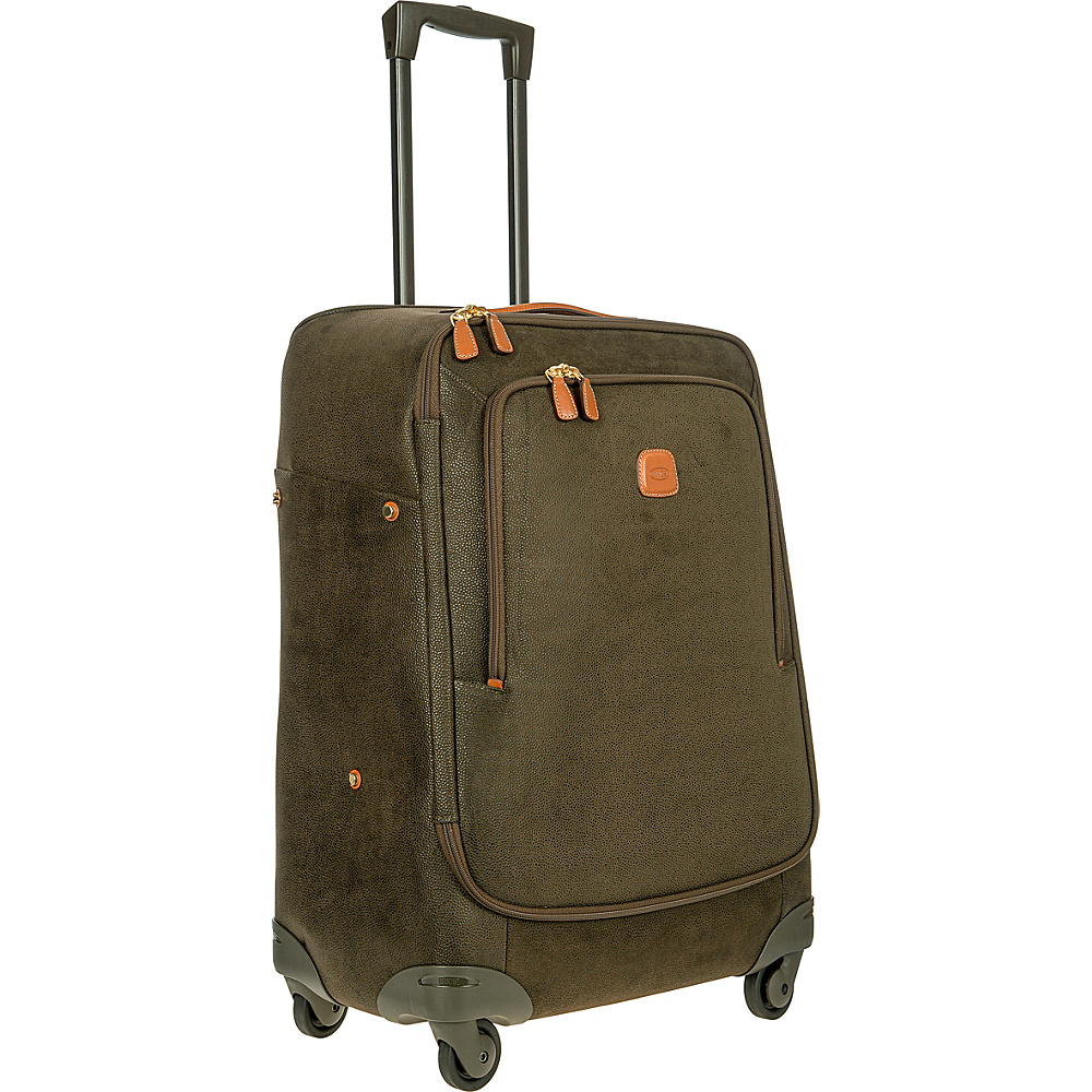 BRIC S Life 26 Light Spinner Olive BRIC S Softside Checked