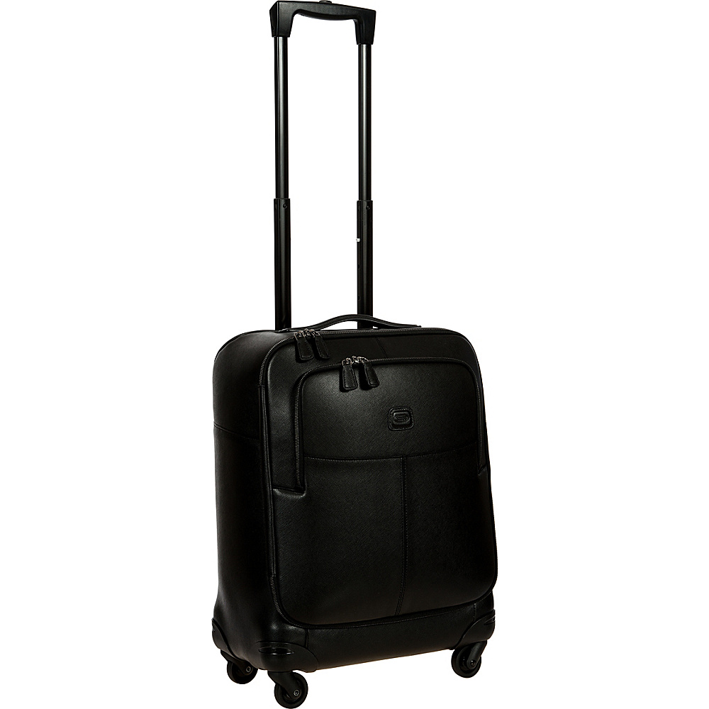 BRIC S Varese 21 Carry On Spinner Black BRIC S Softside Carry On