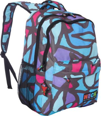 Ed Heck Luggage Scribbles Laptop Backpack Blues - Ed Heck Luggage Business & Laptop Backpacks
