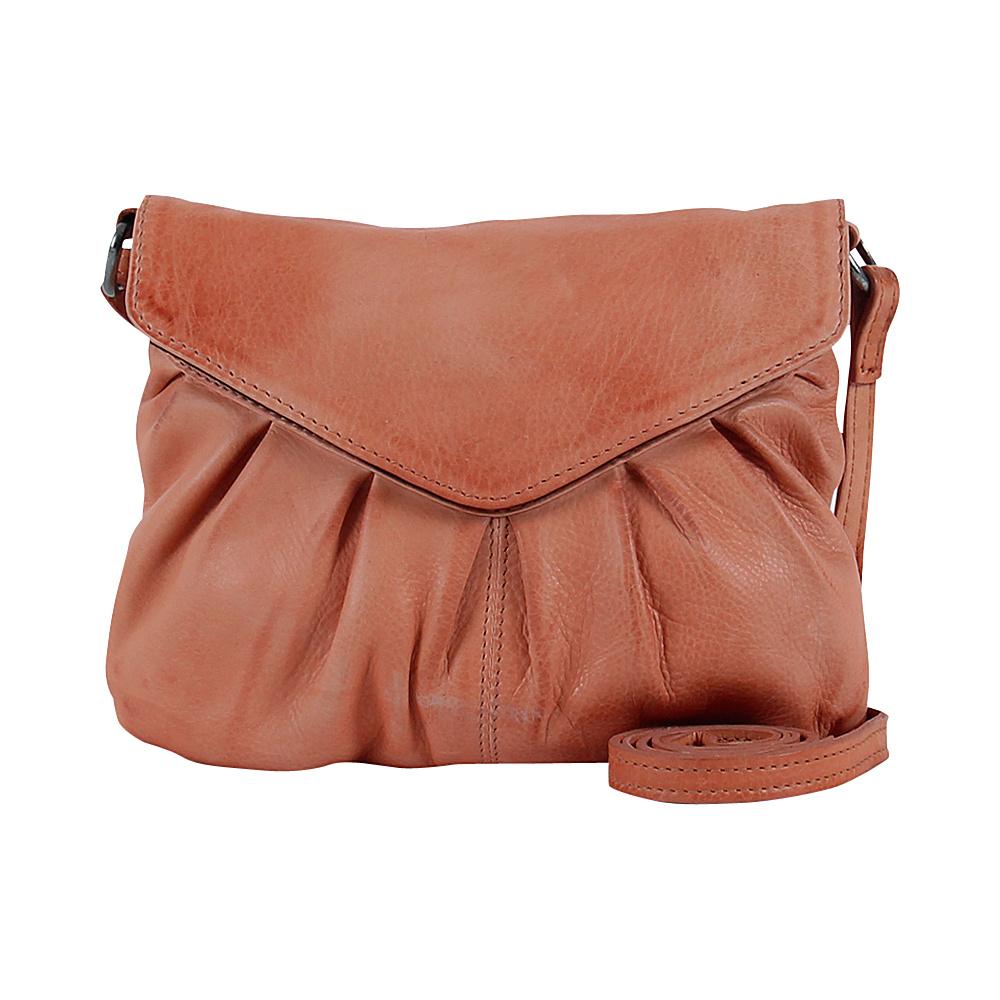 Day Mood Elderflower Crossbody Peach Day Mood Leather Handbags