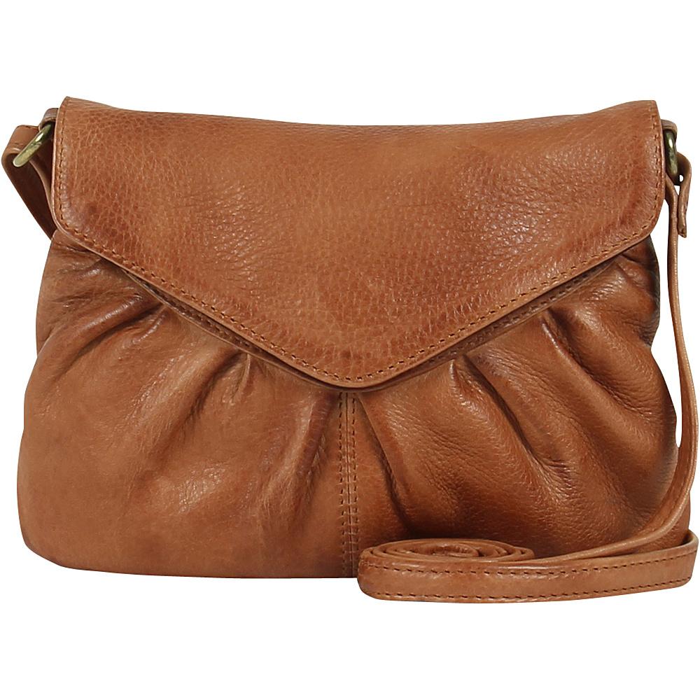 Day Mood Elderflower Crossbody Cognac Day Mood Leather Handbags