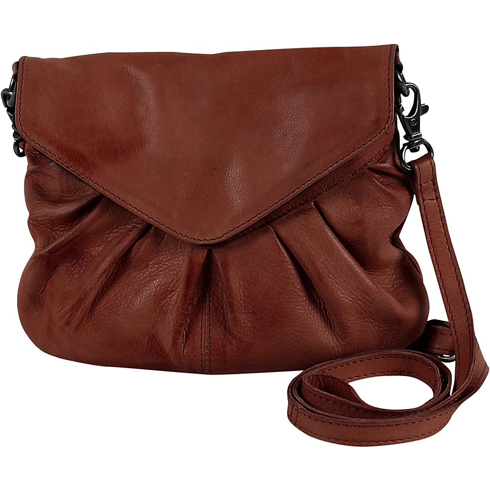 Day Mood Elderflower Crossbody Warm Brown Day Mood Leather Handbags