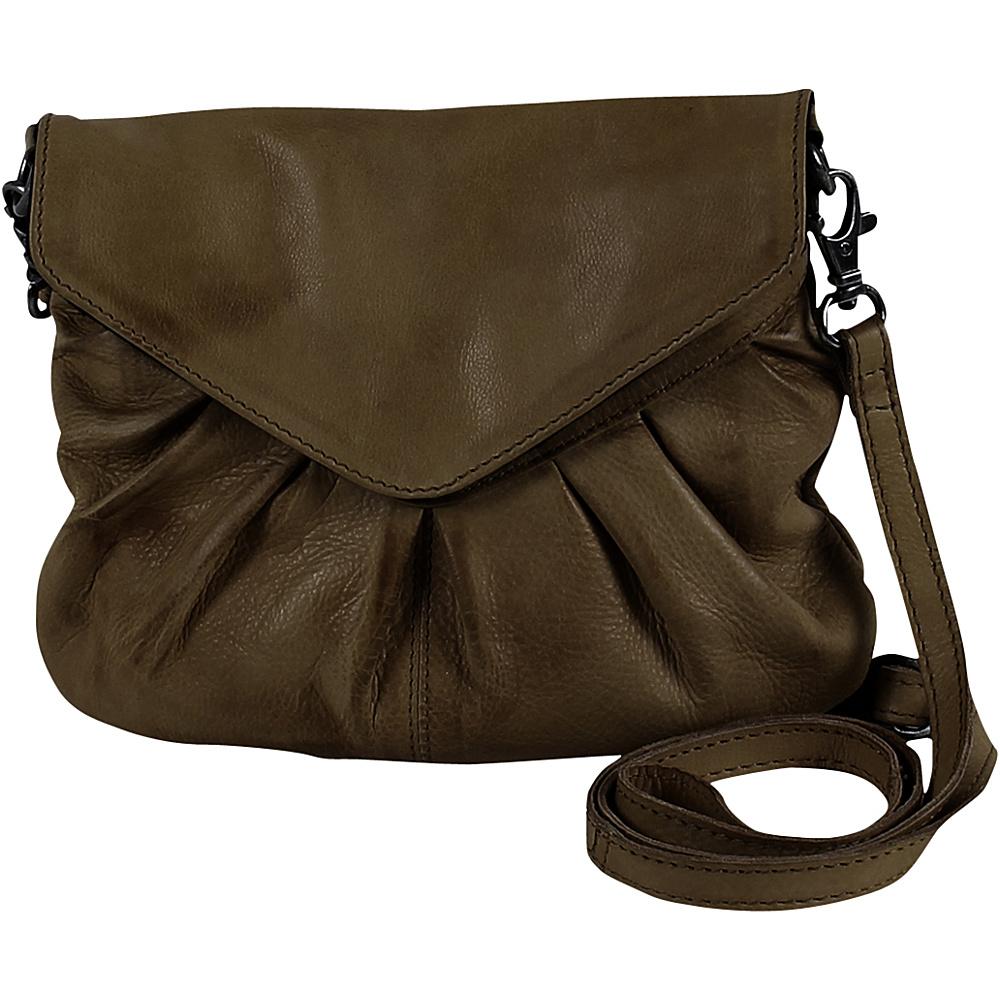 Day Mood Elderflower Crossbody Olive Day Mood Leather Handbags