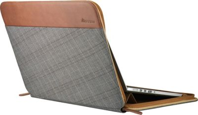 Setton Brothers 13 inch Laptop Sleeve Grey Plaid - Setton Brothers Non-Wheeled Business Cases