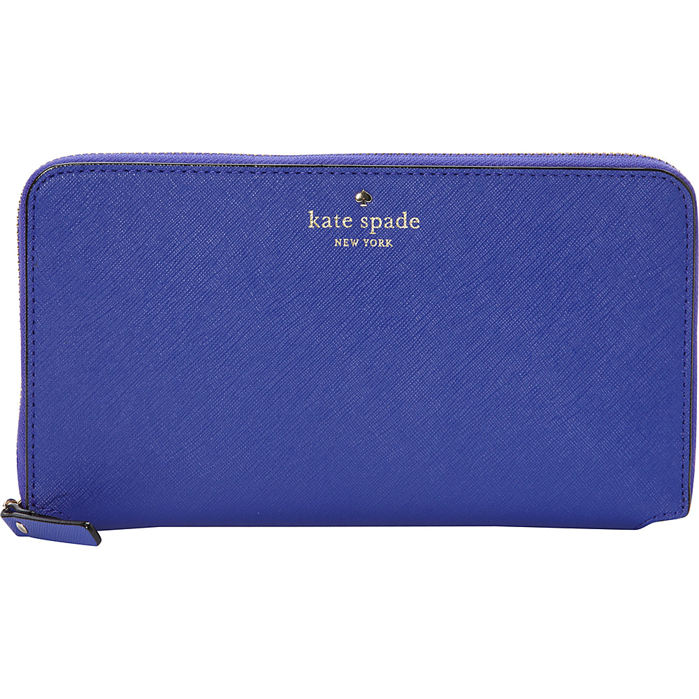 kate spade new york Cedar Street Maia Travel Wallet Nightlife Blue kate spade new york Women s Wallets
