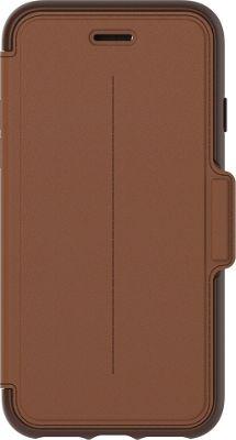 Otterbox Ingram iPhone 7 Strada Series Folio Case Burnt Saddle - Otterbox Ingram Electronic Cases