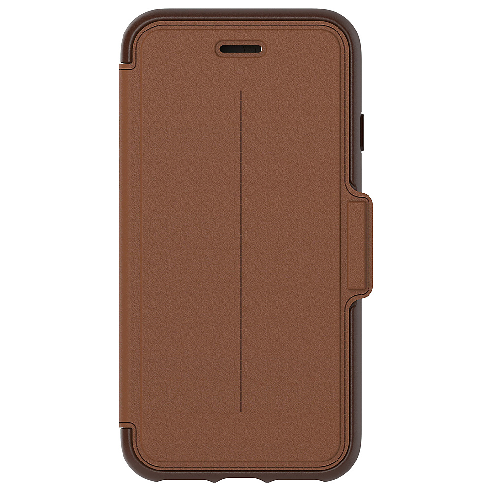 Otterbox Ingram iPhone 7 Strada Series Folio Case Burnt Saddle Otterbox Ingram Electronic Cases