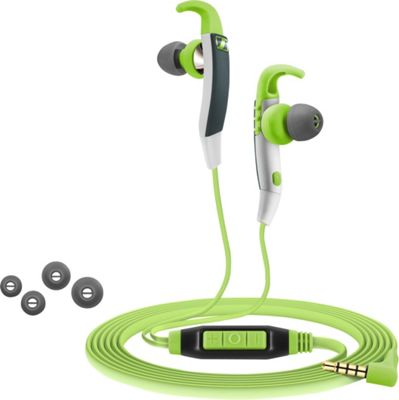 Sennheiser G Sports Headphones with Microphone Green - Sennheiser Headphones & Speakers