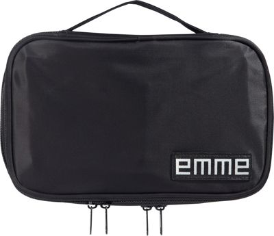 EMME Petite Cosmetics and Toiletries Travel Bag Black - EMME Toiletry Kits