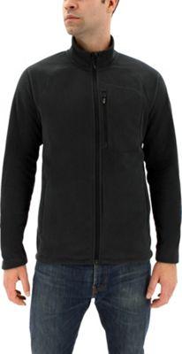 adidas outdoor Mens Reachout Fleece Jacket S - Black - adidas outdoor Men's Apparel