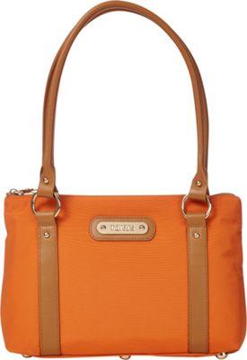 Davey's Small Tote Burnt Orange - Davey's Fabric Handbags