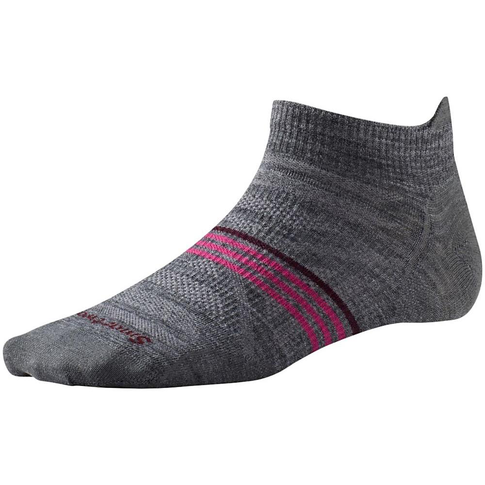 Smartwool Womens PhD Outdoor Ultra Light Micro Medium Gray Large Smartwool Women s Legwear Socks