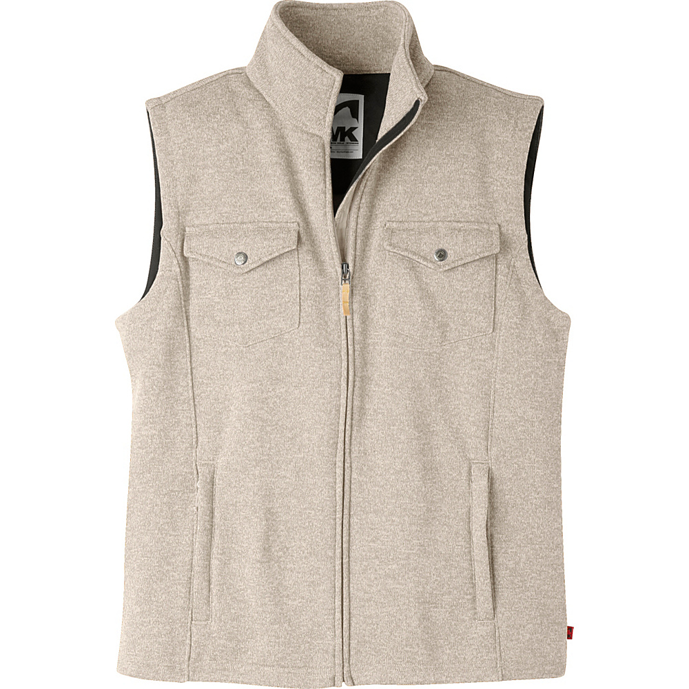 Mountain Khakis Old Faithful Vest M - Oatmeal - Mountain Khakis Mens Apparel - Apparel & Footwear, Men's Apparel