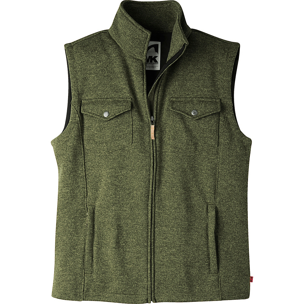 Mountain Khakis Old Faithful Vest M - Field Green - Mountain Khakis Mens Apparel - Apparel & Footwear, Men's Apparel