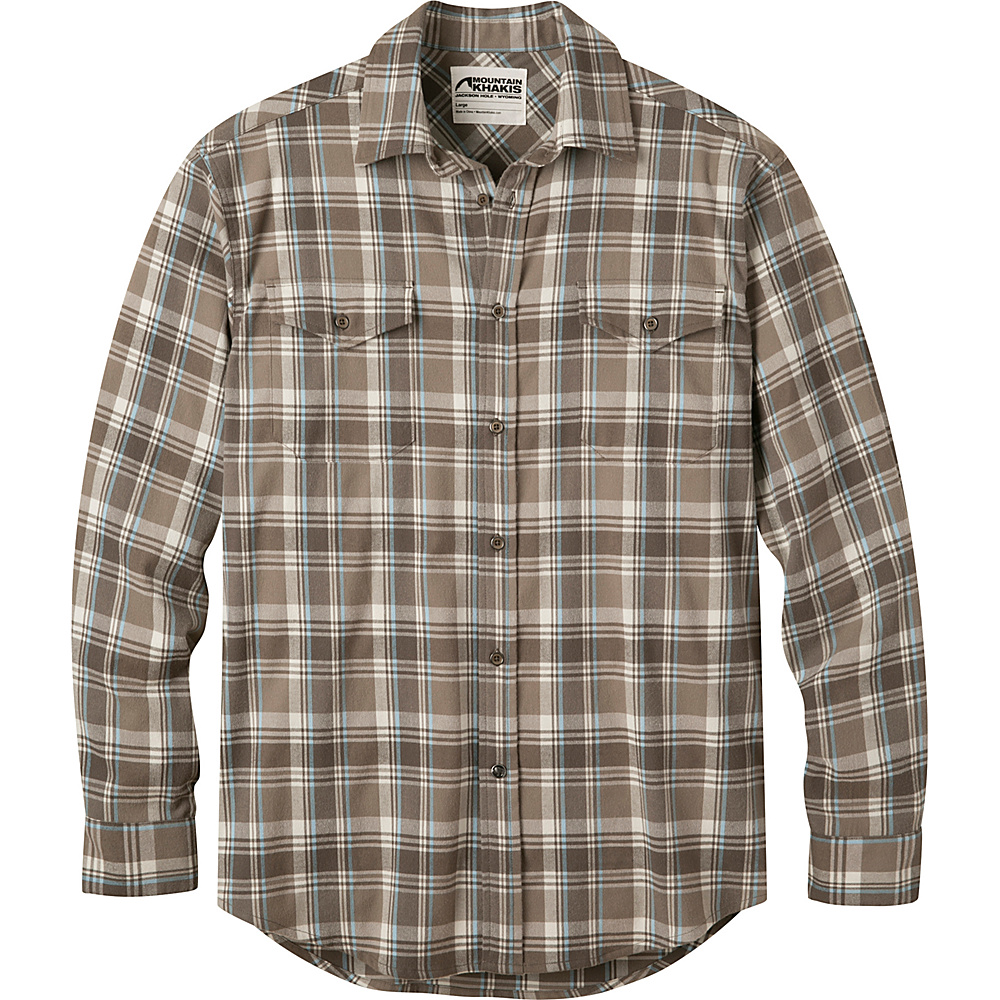 Mountain Khakis Peaks Flannel Shirt 2XL - Firma - Mountain Khakis Mens Apparel - Apparel & Footwear, Men's Apparel