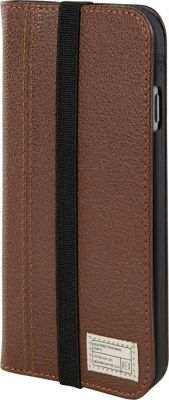 HEX Icon Wallet for iPhone 6 Plus/6S Plus Dark Brown Leather - HEX Electronic Cases