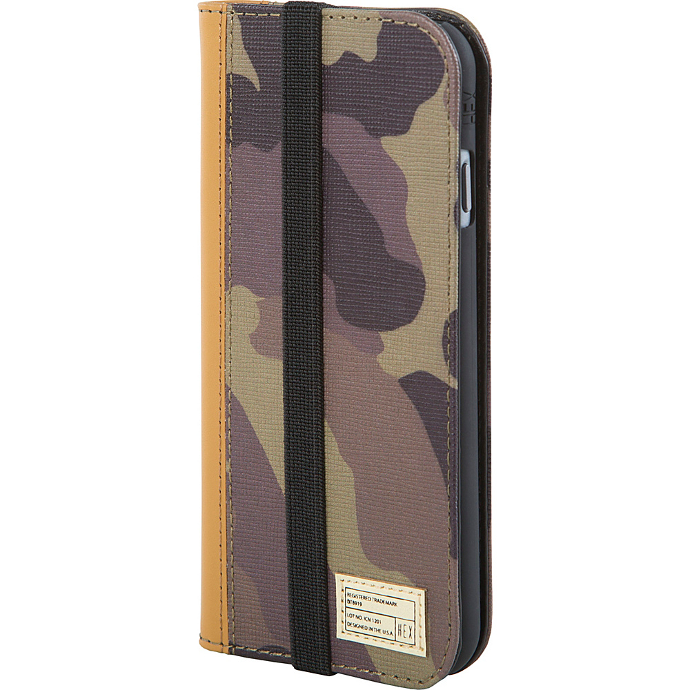 HEX Icon Wallet for iPhone 6 Plus 6S Plus Camo Leather HEX Electronic Cases