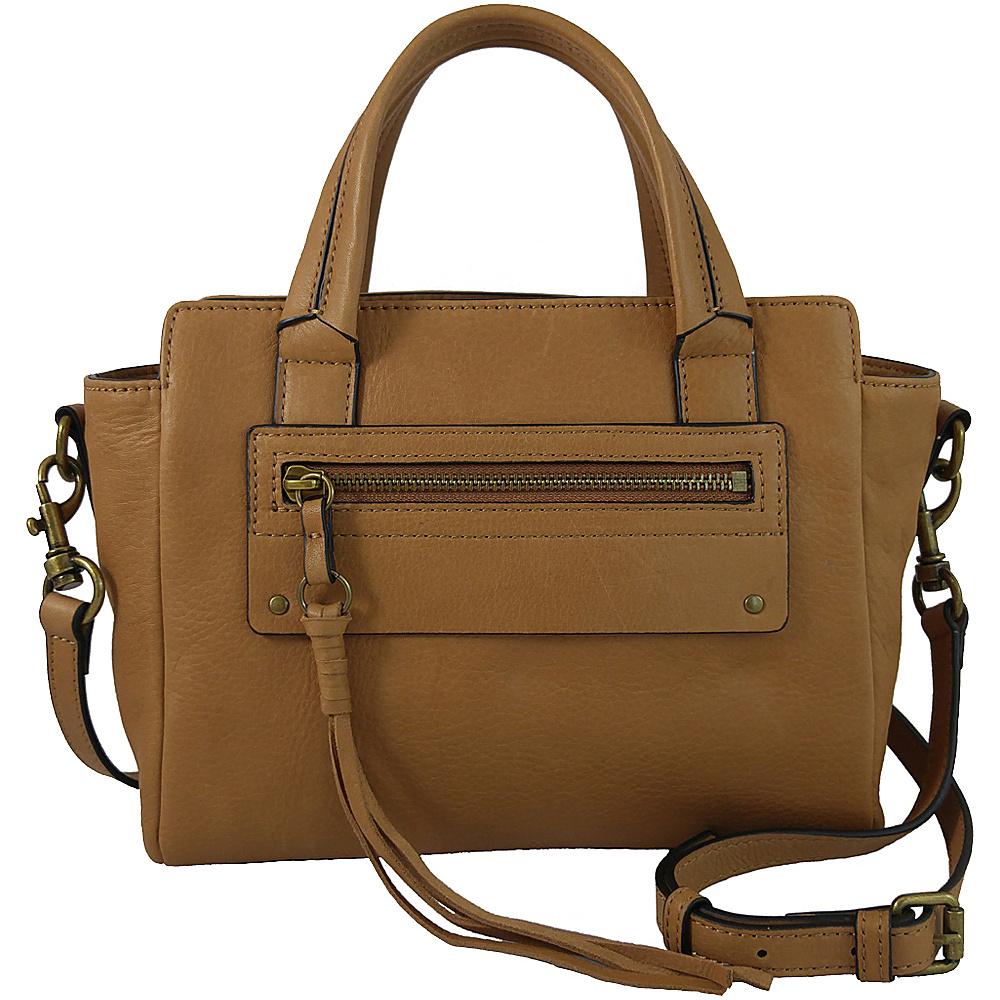Joelle Hawkens by treesje Lidia Mini Satchel Chestnut Joelle Hawkens by treesje Designer Handbags