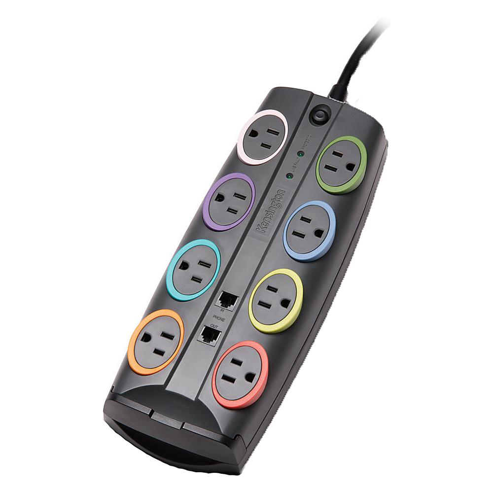 Kensington SmartSocketsStandard Adapter Black Kensington Electronic Accessories